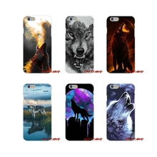 Winter Lone Reflection Wolf Accessories Phone Shell Covers For Samsung Galaxy A3 A5 A7 J1 J2 J3 J5 J7 2015 2016 2017