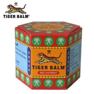 Image 2 - 100% Original 19.4g rouge tigre baume onguent thaïlande antidouleur onguent soulagement de la douleur musculaire onguent apaiser les démangeaisons