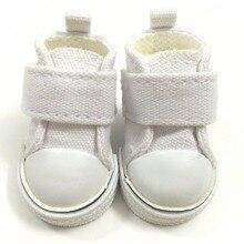 BEIOUFENG 5CM 캐주얼 캔버스 신발 스니커즈 신발 섬유 인형 장난감, 패션 1/6 BJD 인형 신발 스포츠 체육관 신발 2 쌍 / 로트