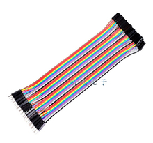 40pcs dupont cable jumper wire dupont line Male to female dupont line 20cm 1P 40P free shipping(Hong Kong)