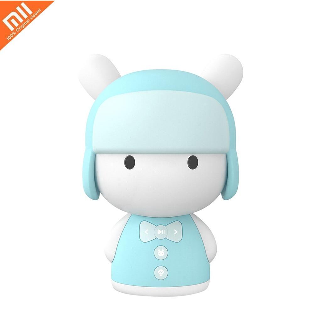 Xiaomi Mitu Robot Story Teller Robot Mini Bluetooth Speaker Baby Sleep Helper Educational Toy 16GB Storage for Kids CN Version