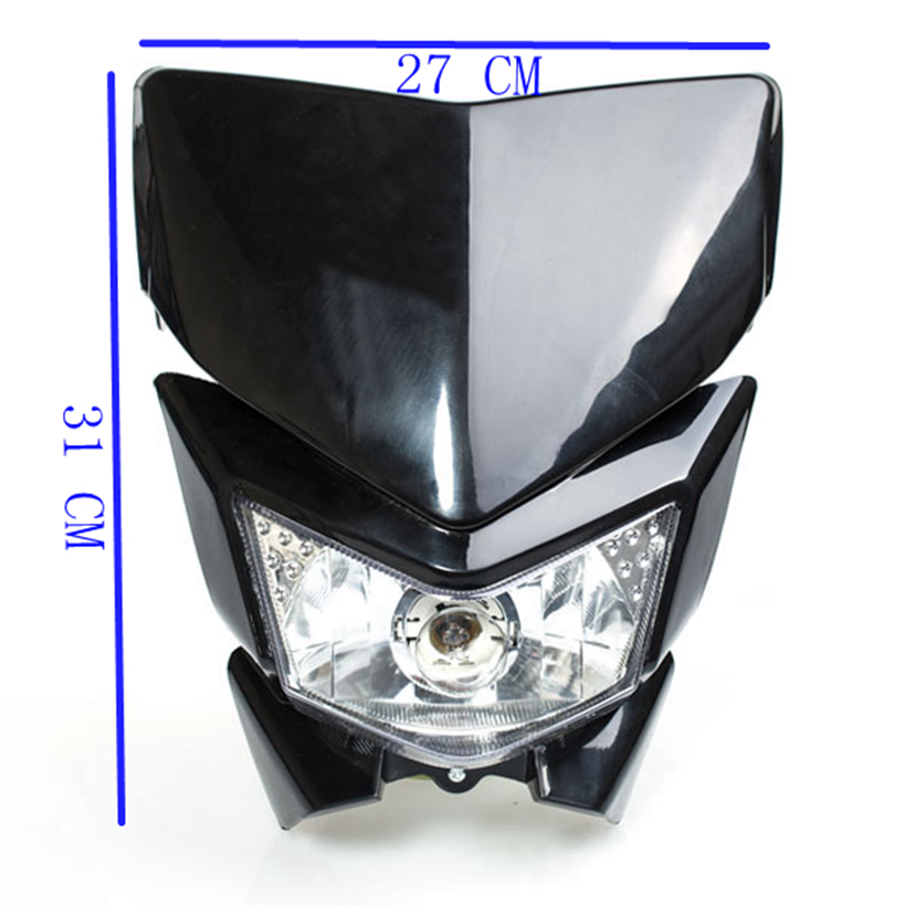 Lmodri Fee Shipping Motorcycle Headlight Cover Modified Accessories