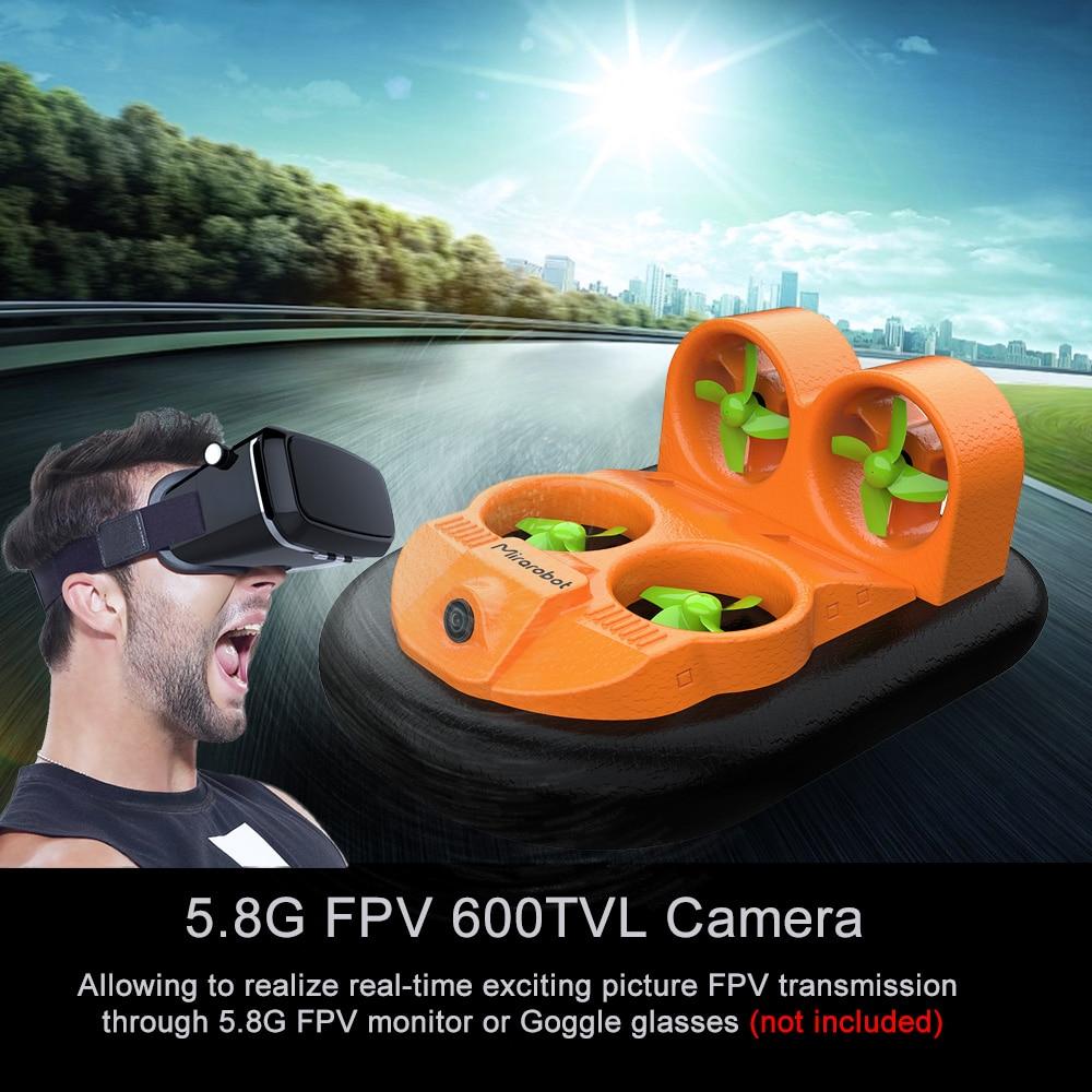Mini RC Boot GV160 LED EPP 2,4G High Speed Boden Wirkung Amphibien Anti abgestürzt RC Boot Fahrzeug Hovercraft für Kinder-in RC-Boote aus Spielzeug und Hobbys bei  Gruppe 1