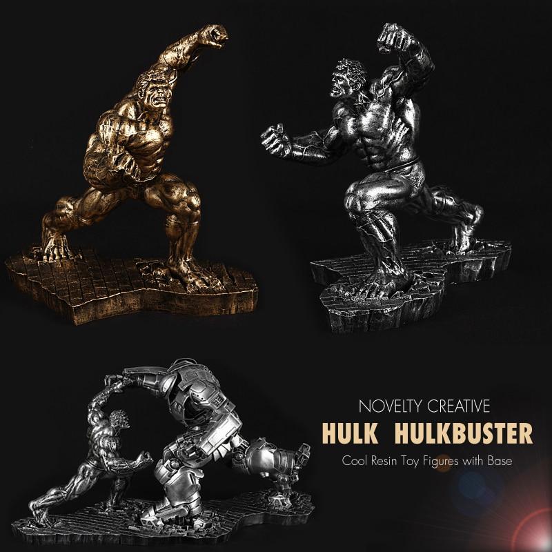 Pandadomik Hulk Large Size Resin Toy Figure Model Avengers Hulkbuster Action Toy Figures advengers infinity war Boy Marvel Toys