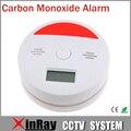 Alarme de fumo VKL601 Permanente Monóxido De Carbono Sensor Detector de Fumaça com 3 dígitos display LCD