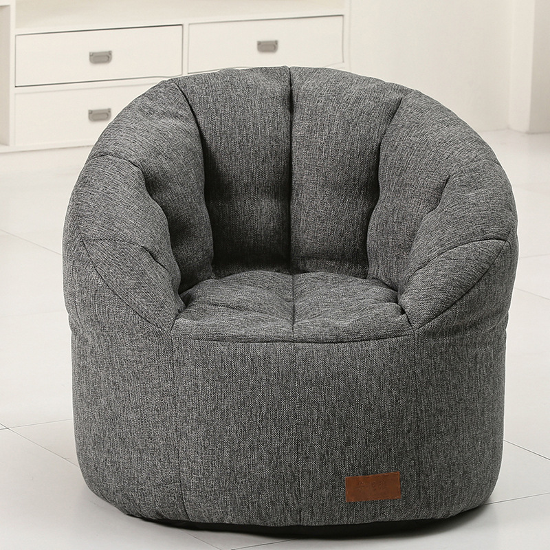Lazy sofa bean bag chair creativity Single Fabric beanbag chair bedroom tatami portable bean bag sofa totoro bed folding sofa