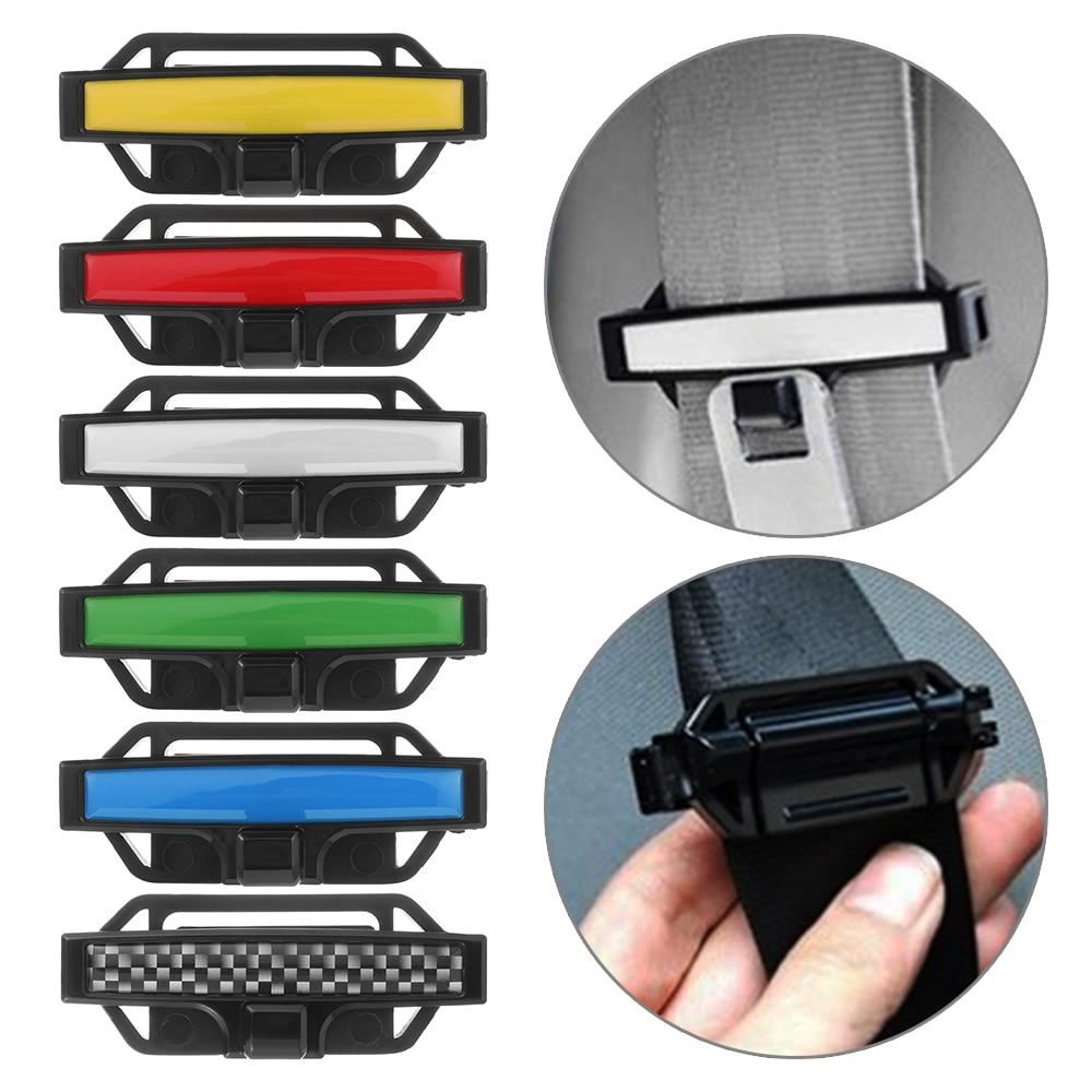 Lock Clamp Buckle Car Seat  Belt Safety Adjuster Clip Seatbelt Stopper