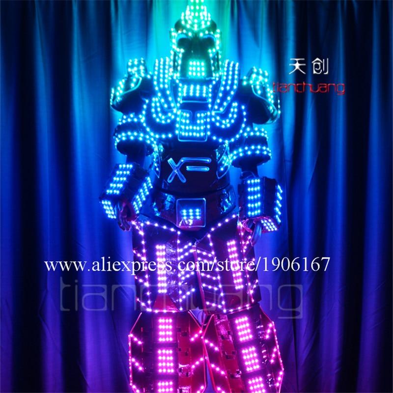 Stilt man LED Robot4