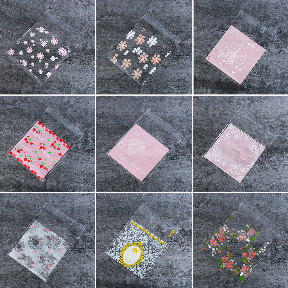 Tool Flower Baking Cookie Bags Packaging Bag Candy Pockets Wrapping Supplies