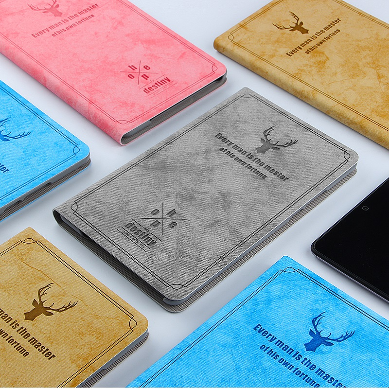 For HUAWEI Mediapad M5 lite 8.0 inch Case Leather Flip Cover Ultra Thin High Quality With PC+PU Holder for 8.0inch PC Tablet