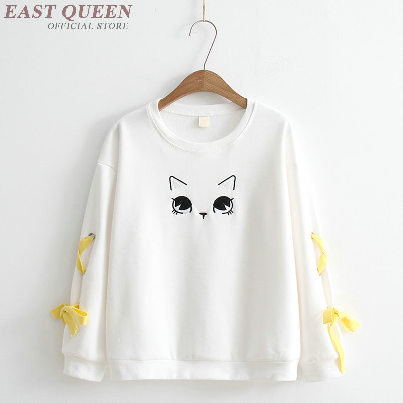 Harajuku kawaii sweatshirt kawaii clothes for teens japanese style kawaii sweatshirt teenager japan clothes AA3211 Y