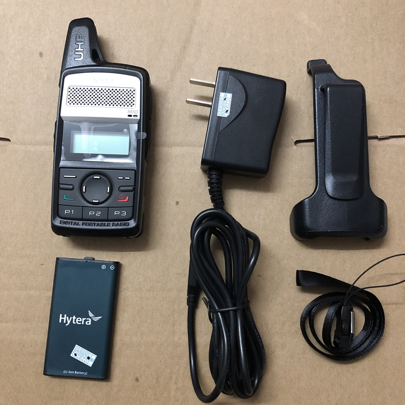 Image 3 - Hytera PD 365 walkie talkie 400 4300MHz/440 470MHZ  Two way radio digital walkie talkie-in Walkie Talkie from Cellphones & Telecommunications