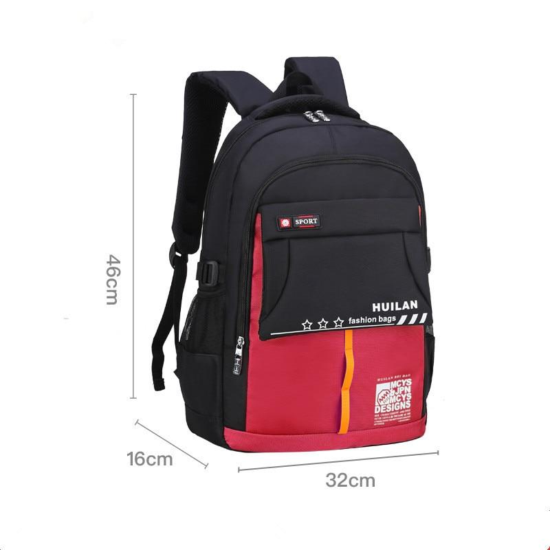 2018 new children school bags orthopedic school backpack for boys girls waterproof school satchel kids schoolbag bookbag mochila in School Bags from Luggage Bags
