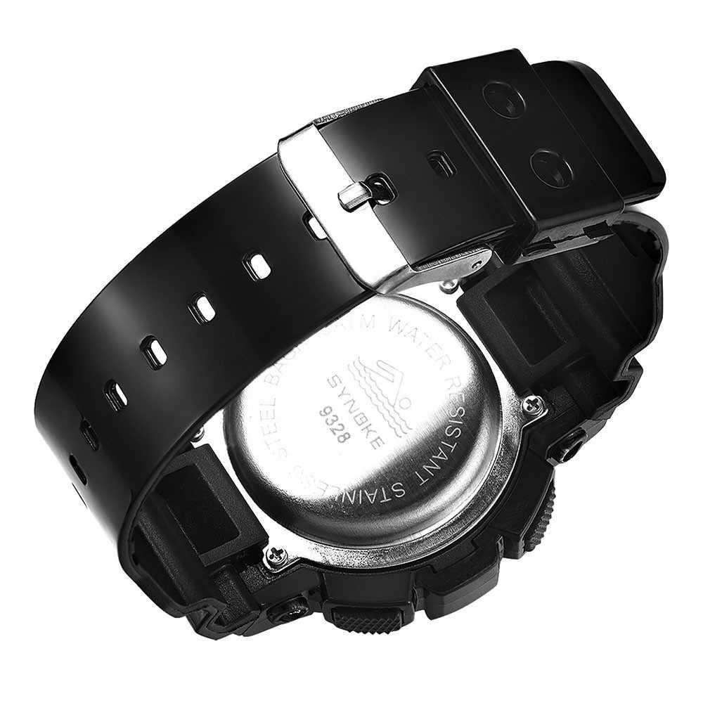 Популярные часы унисекс Детские модные цифровые наручные часы принт с большими цветами однотонный на брительках спортивные часы Montre Garcon @ 55