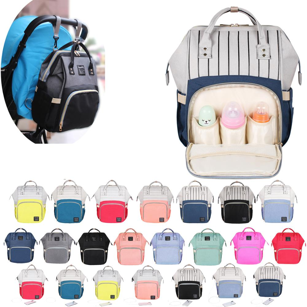 Baby Diaper Bag Diaper Backpack Mummy Maternity Bag for Mother Brand Mom Large Capacity Nappy Bag Travel Backpack Nursing BagBaby Diaper Bag Diaper Backpack Mummy Maternity Bag for Mother Brand Mom Large Capacity Nappy Bag Travel Backpack Nursing Bag