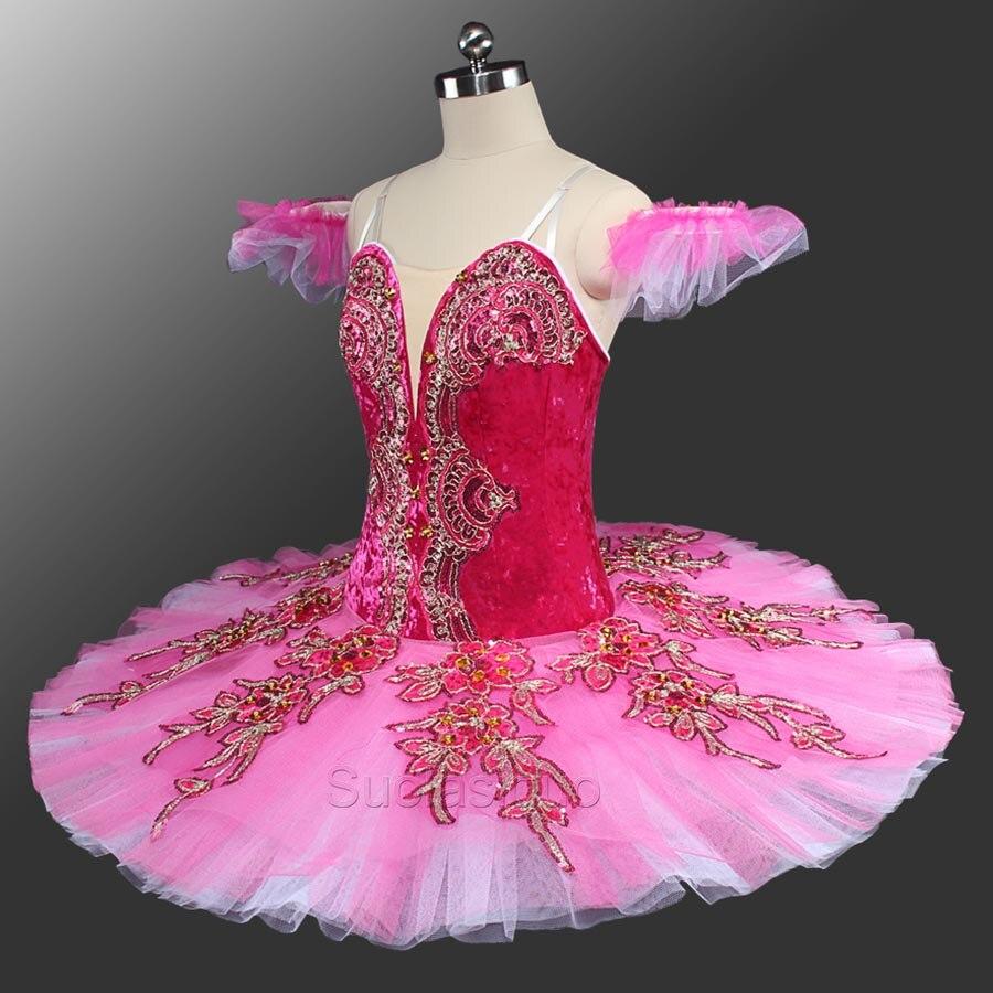 Fairy Princess Pink /& Black Tutu Dance Dress up