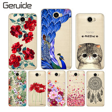 Soft TPU Phone Case for Huawei Y5 II 2 Cases Cover Honor 5A LYO-L21 Russia Version 5.0 Silicon Bag