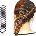 1 unids nuevo pelo de moda Braiding trenzadora rodillo herramienta con Magic Hair Styling torcedura del fabricante del bollo para mujeres