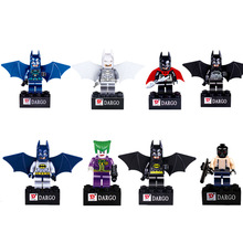 Best Birthday Gift 8 Different Style Batman Series Building Block Super Hero Person Full Set Assembling Building Blocks Souptoys