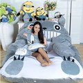2017 Fashion Free Shipping Super cute cartoon Totoro double sleeping bag lazy sofa mattress Totoro tatami personalized gift