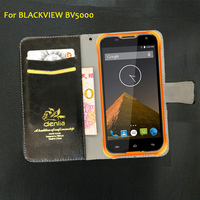 BLACKVIEW BV5000 Case New Style 7 Colors Dedicated Genuine Leather Protective Phone Case For BLACKVIEW BV5000