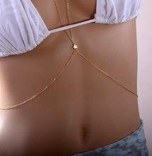 Gold Bikini Beach Body Chain Jewellery