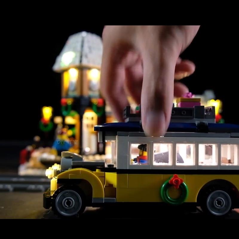 Lego 10259 Led Light The Winter Village Brickkits(Only lights)