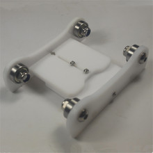 Horizon Elephant Printrbot Adjustable Spool Coaster 3 D printer filament holder spool holder for DIY Reprap 3D printer white co