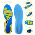 Silicon Gel Insoles Foot Care for Plantar Fasciitis Heel Spur Running Sport Insoles Shock Absorption Pads for men and women
