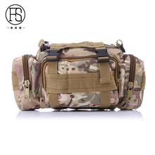 New ! Camouflage Military Tactical Sport Bag Multifunctional Portable Waist Bag Outdoor Waterproof Hand Bag
