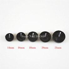 Диаметр 16 мм черный нейлон Мебель Председатель ногтей Средства ухода за кожей стоп скользит Средства ухода за кожей стоп нижней защитить cp508