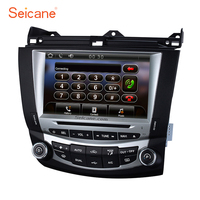 Seicane 8 WinCE 6.0 800*480 TouchScreen Radio GPS Navigation for 2003 2004 2005 2006 2007 Honda Accord 7 DVD Stereo with SD AUX