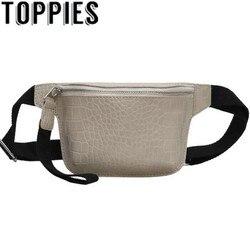 Трендовая Женская поясная сумка из искусственной кожи 2020, мини-сумки на молнии, корейская мода, женская нагрудная сумка из искусственной ко...