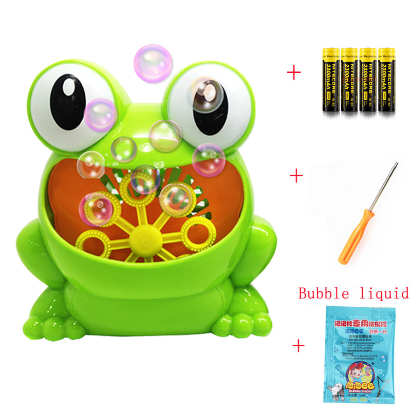 New Cute Frog Automatic Bubble Machine Blower wedding Maker Party Summer Outdoor Toy for Kids bubble machine weddingNew Cute Frog Automatic Bubble Machine Blower wedding Maker Party Summer Outdoor Toy for Kids bubble machine wedding