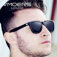 d404afcde747a VMOERS hombre conducción polarizadas HD gafas de sol hombres negro mate de  plástico gafas de sol