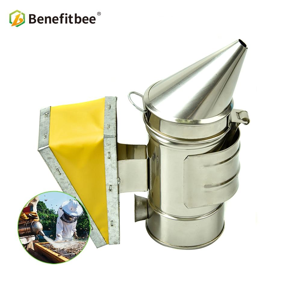 Benefitbee Bee Smoker Mini Beekeeping For Children Beekeeper hive Tools Equipment Stainless Steel