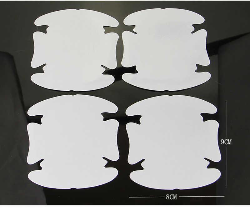2018 جديد مقبض باب السيارة ملصقات غشاء واقي لكيا ريو K2 سبورتاج الروح مازدا 3 6 CX-5 لادا سكودا اوكتافيا A5 اكسسوارات