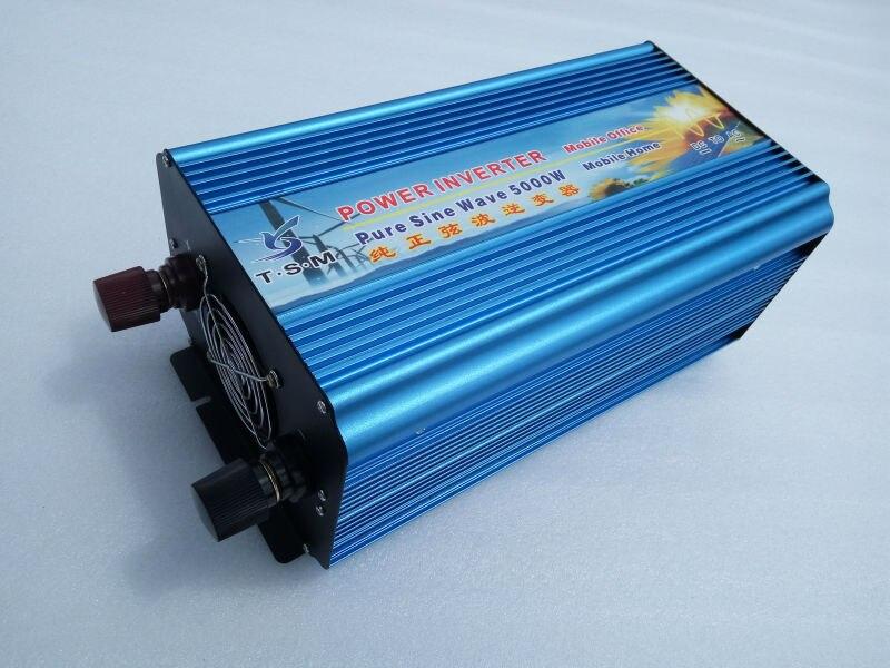 off grid pure sine wave power inverter 12v 220v 5000W(peak 10000w) ,converter for office home or camping