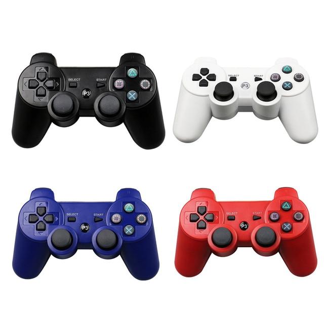 ワイヤレス Bluetooth コントローラーソニー PS3 ゲームパッド用 3 ジョイスティックプレイステーション 3 PC デュアル Controle