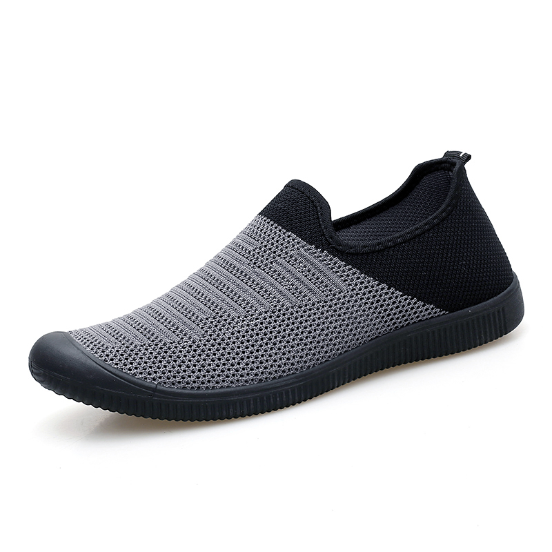 Men's Casual Shoes Summer Mesh Breathable Men Lightweight Flat Loafers Slip on Man Walking Fashion Sneakers male lightweight breathable mesh slip on shoes