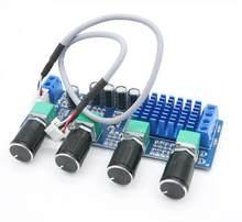 TPA3116 80W x 2 2.0 canali TPA3116 D2 Alti Bassi Regolazione Preset Stereo di Bordo amplificatore Audio Amplificador