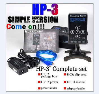 Tattoo Power Supply Advanced Quality Compact Version Hurri Power Supply HP-3 Screen Touch Tech Power Supply