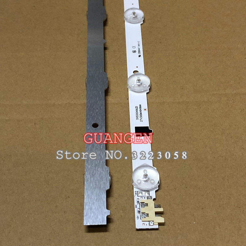 5piece/lot 650mm LED Lamp strip 9leds For UA32F4088 2013SVS32H D2GE-320SC0-R3 UA32F4088AR CY-HF320AGEV3H UE32F5000 UA32F4000AR5piece/lot 650mm LED Lamp strip 9leds For UA32F4088 2013SVS32H D2GE-320SC0-R3 UA32F4088AR CY-HF320AGEV3H UE32F5000 UA32F4000AR
