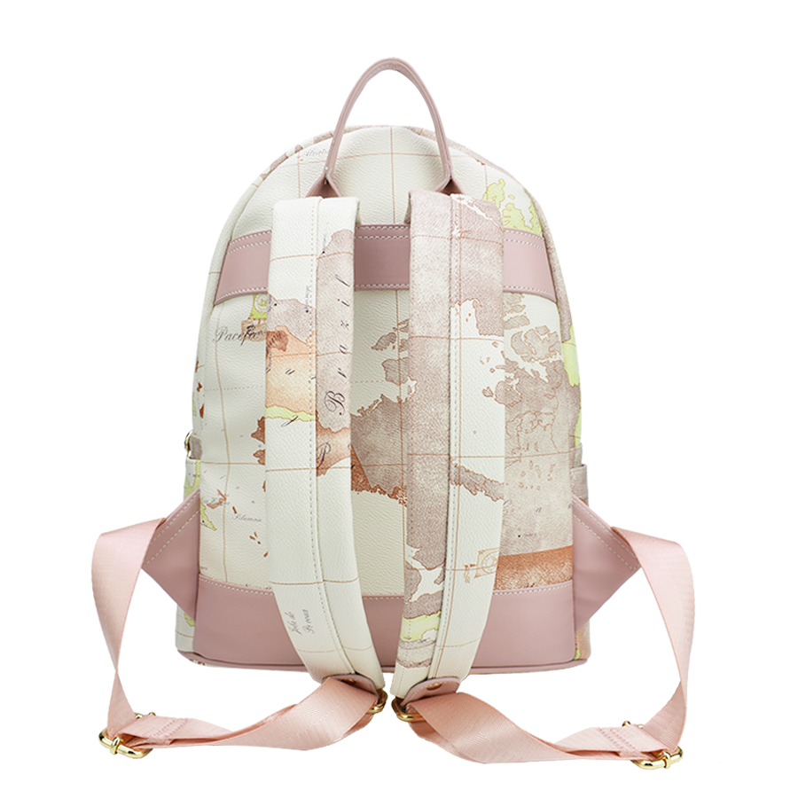 Designer backpack women high quality world map backpack rivet designer backpack women high quality world map backpack rivet leather men backpack fashion travel backpacks vintage school bags in backpacks from luggage gumiabroncs Image collections