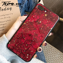 Marble Gold Foil Back Cover For Samsung Galaxy S7 edge S8 S9 Plus S10 Lite Note 8 9 M10 M20 M30 Soft TPU Phone Case Silicone