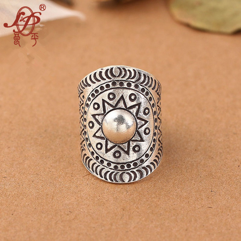 ChiangMai Thailand 925 Sterling Silver Ring For Women Men Vintage Pure Handmade Silver Ring For Original
