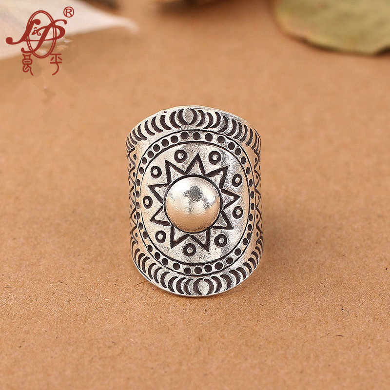 ChiangMai Thailand 925 Sterling Silver Ring For Women&Men Vintage Pure Handmade Silver Ring For Original Jewelry ForWholesale