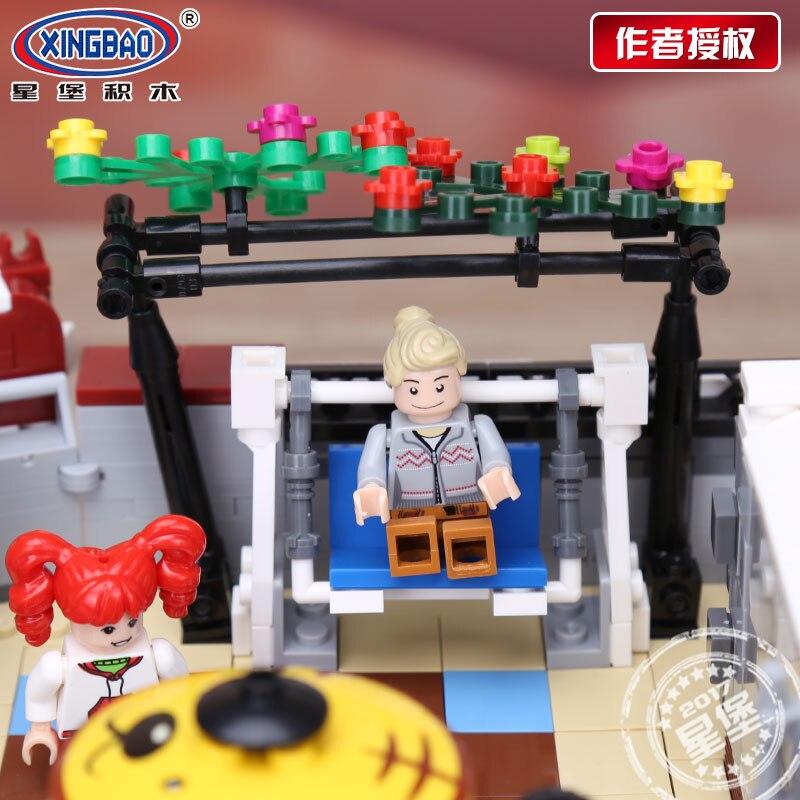 Xingbao 01006 Creator Expert набор игрушек и книжного магазина Обучающие строительные блоки кирпичи игрушки для детей рождественские подарки - 5