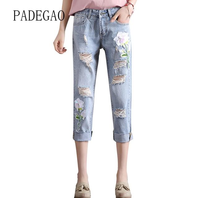 Moda 2017 Pintó Los Pantalones Vaqueros Para Las Mujeres Mujer Femenina  Push Up Mujeres Novios Jeggings 3f7fadf0cdfd