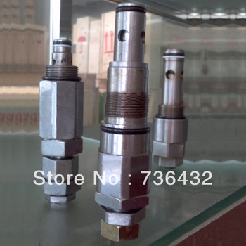 Fast Free shipping! Main Relief valve ass'y  apply to Kobelco SK200 / Kobelco Hydraulic Pump Master Control Valve 2436R683F1